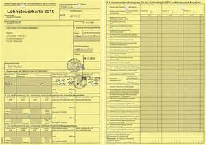 Steueridentifikationsnummer Abrechnung : lohnsteuerkarte wikipedia ~ Themetempest.com Abrechnung