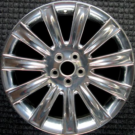 lincoln mks polished   oem wheel   bazb