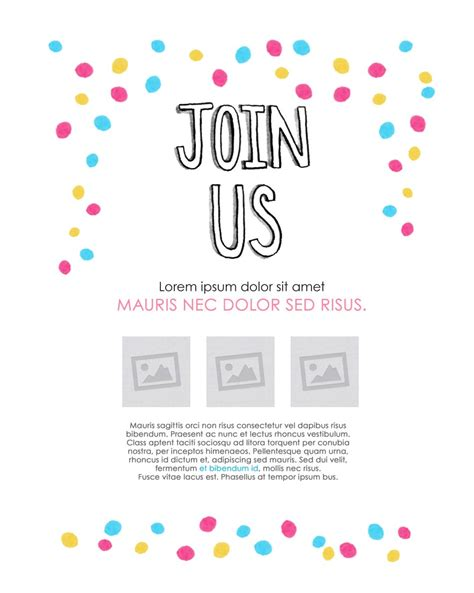 Rsvp Template For Event Email Event Invitation Template