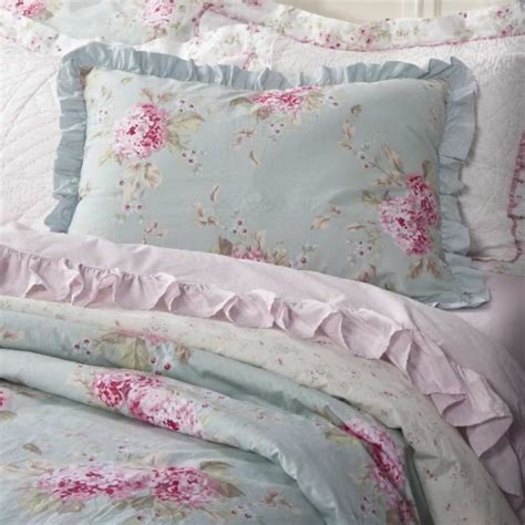 shabby chic linens simply shabby chic hydrangea rose belle king duvet 3 pc set