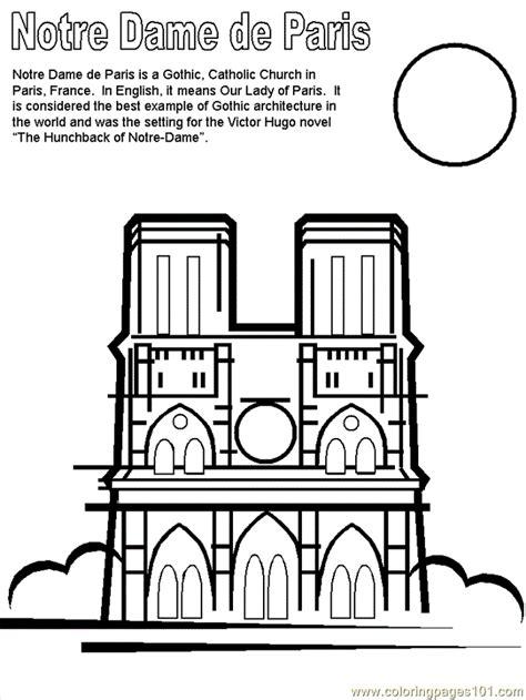 paris france coloring pages  printable coloring page