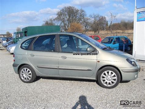 renault scenic 2002 specifications 2002 renault scenic 2 0 16v privilege car photo and specs
