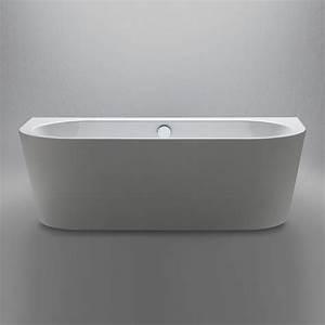 Badewanne Freistehend An Wand : repabad livorno oval f badewanne wand 180 x 80 cm 31671 ~ Lizthompson.info Haus und Dekorationen