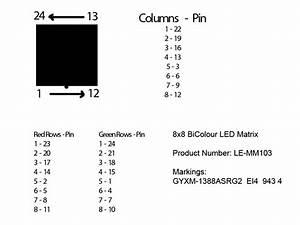 Arduino  U2013 8 U00d78 Led Matrix  U2013 Duck U0026 39 S Tech Blog