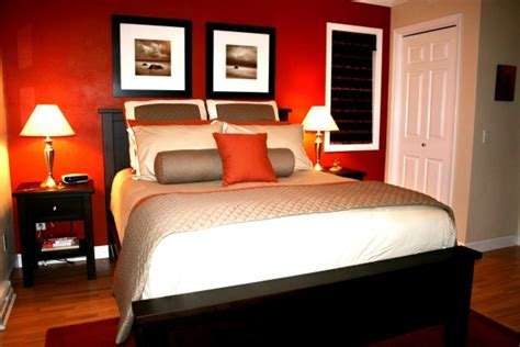 bedroom small red open spaces feng shui