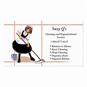 Anime maid business card templates zazzle for Maid business cards