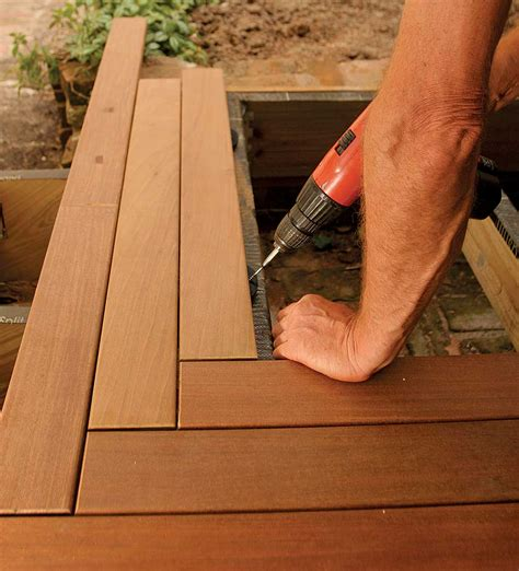 ipe deck installation leads  lessons learned fine