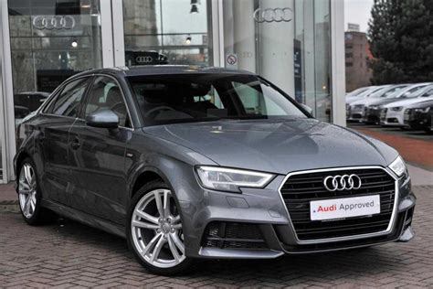 audi a3 sline used 2017 audi a3 2 0 tdi s line 4dr for sale in lancashire pistonheads