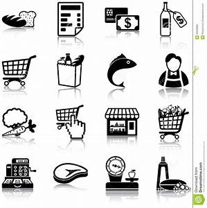 Grocery Icons Stock Photography - Image: 33530892