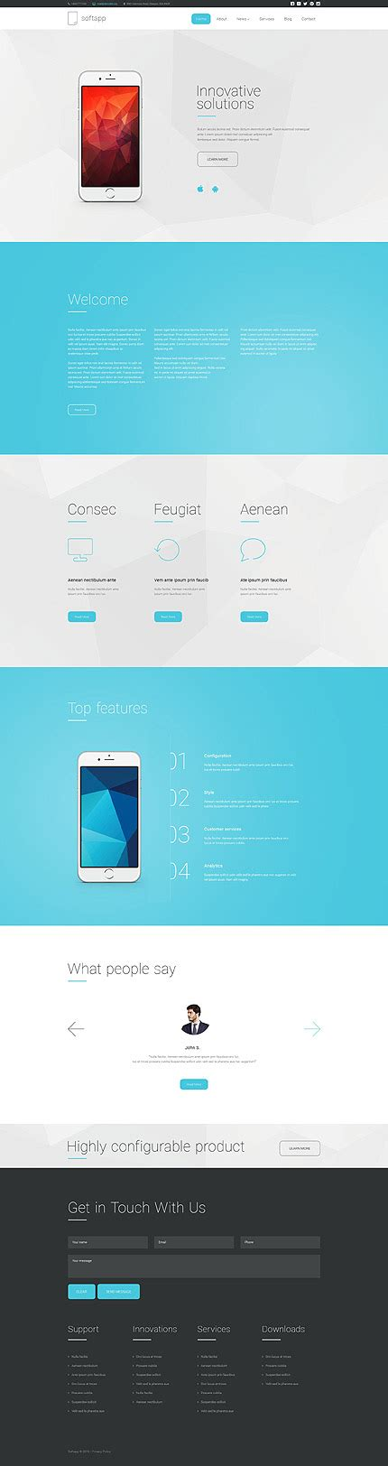 Turn Off Drupal Template by Softapp Software Website Template Drupal Framework