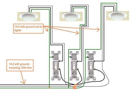 picture of how to wire a light switch electrical how do i wire a 3 switch in my new