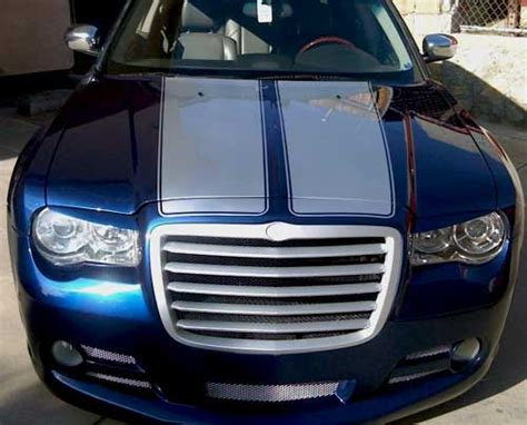 hood stripes graphics decals fit  yr model chrysler