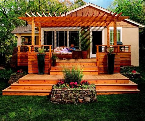 Patio And Deck Designs  Elegant Ideas For Your Residence