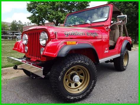 jeep golden eagle interior 304ci v8 engine manual transmission levi interior ac disc
