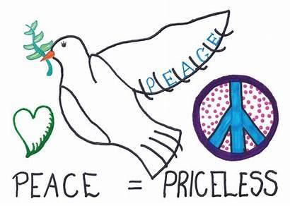 Peace Postcard Priceless Dove Postcards