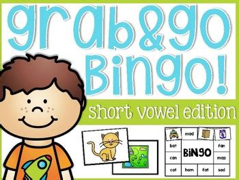 short vowels solo bingo  images short vowels