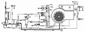 Mtd 133h471f098  Mtd7120a39   1993  Parts Diagram For