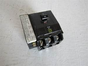 Square D Qo3451021 3 Pole 45 Amp 240 Volt Qo Shunt Trip
