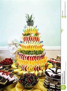 La Table à Dessert : d coration g teaux et biscuits de pyramide de fruit la ~ Melissatoandfro.com Idées de Décoration