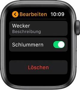 Stelle Den Wecker : wecker zur apple watch hinzuf gen apple support ~ Yasmunasinghe.com Haus und Dekorationen