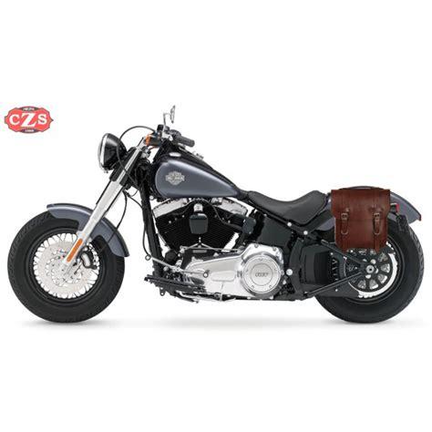 Harley Davidson Softail Slim Modification by Sacoche Softail Slim Harley Davidson