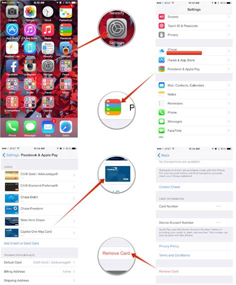 how to remove a credit card from iphone how to remove a credit card from apple pay technobezz