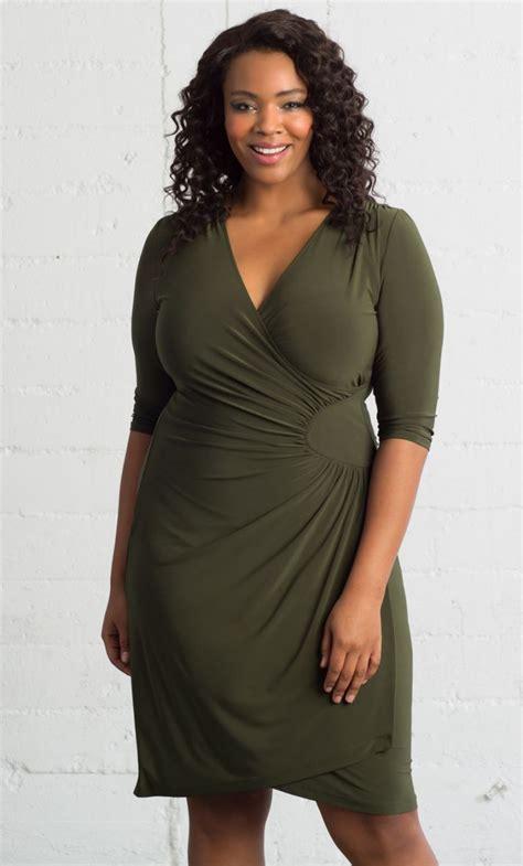 ciara cinch dress olive  size  beautiful
