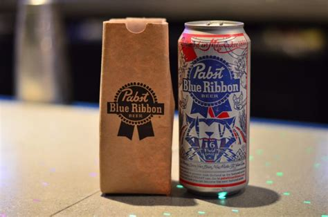 Blue ribbon club lounge located next to domestic departure gate 2. 25 Drinks of Christmas - PBR in a Paper Bag   TouringPlans ...