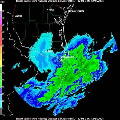 Christmas 2004 Radar Doppler Weather Brownsville Animation