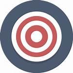 Target Transparent Svg Background Clipart Icon Bullseye