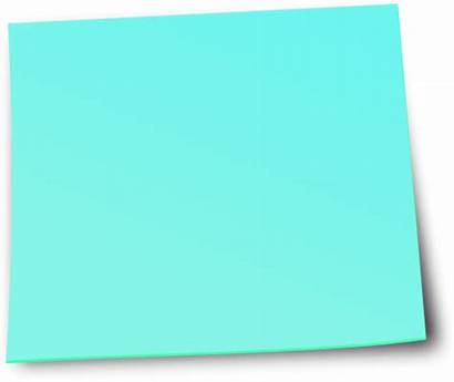 Note Paper Sticky Transparent Notes Clipart Postit
