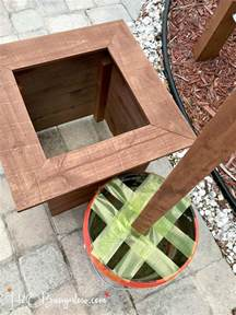 Wood For Planter Box by Diy Outdoor String Lights On Poles H20bungalow