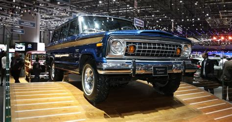 Coolest Suv by Classic Jeep Wagoneer Could Be Geneva S Coolest Suv
