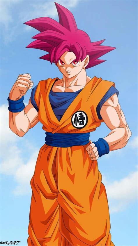 Goku Super Saiyajin Fase Dios Goku Dragon ball e Super