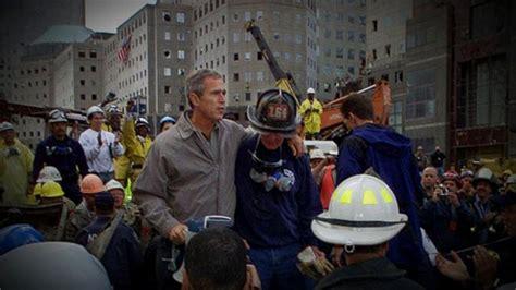 bush george 911 trump donald comments