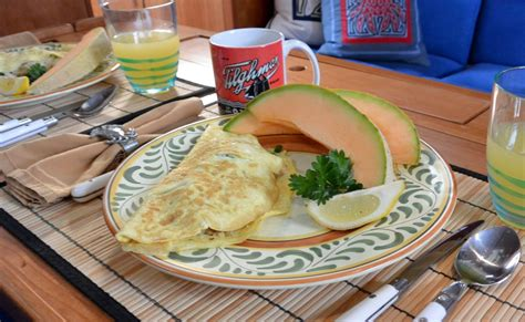 galley piratescrab cake omelettes