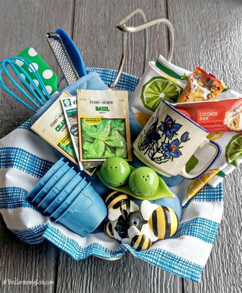 kitchen gift basket  tips   printable