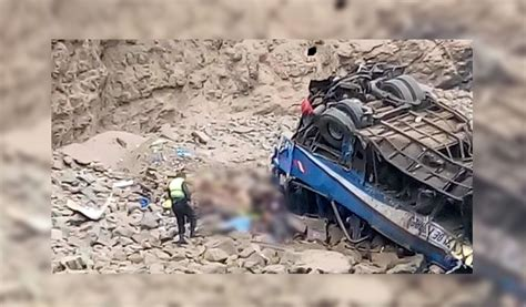 Se Incrementa La Cifra De Fallecidos En Accidente De Perú