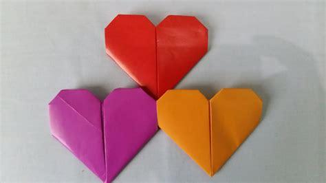 origami tutorial origami love simple  membuat