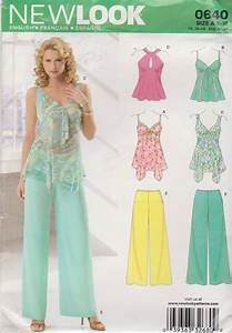 New Look Sewing Pattern 0640 6606 Misses Sizes 8