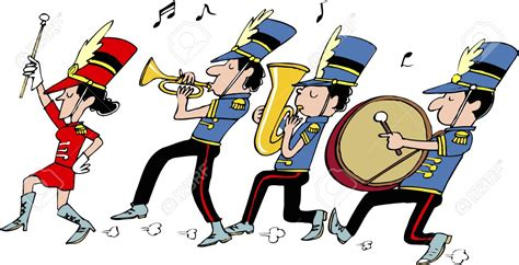 Marching Band Clipart Musician Clipart Marching Band Pencil And In Color