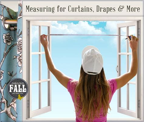 how to measure for curtains drapes other window