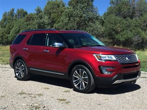 2016 Ford Explorer Platinum First Review