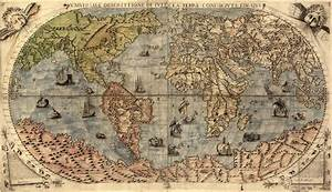 Map of the World from Early 1500's