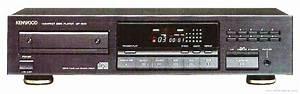Kenwood Dp-1510 - Manual - Compact Disc Player