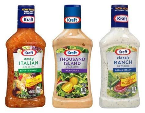 Kraft Salad Dressing Coupon and Deals
