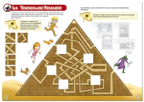 L Interno Delle Piramidi Albo Avventure E Misteri I Segreti Delle Piramidi