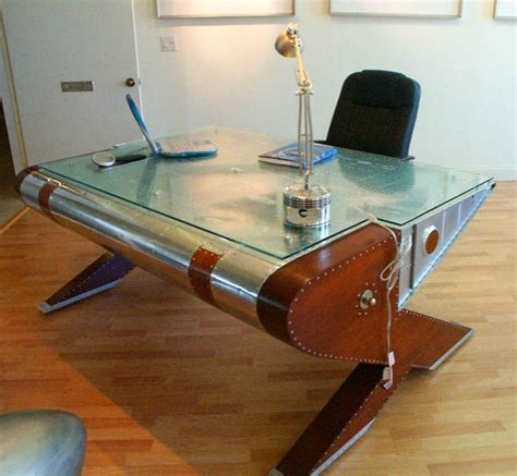 aviator wing desk furniture 17 best images about aircraft recycled into furniture on