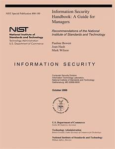 Nist Special Publication 800