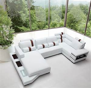 massimo modern white leather sectional sofa With storehouse furniture sectional sofa